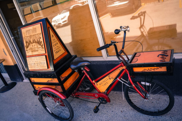 Bike Coffee Shop